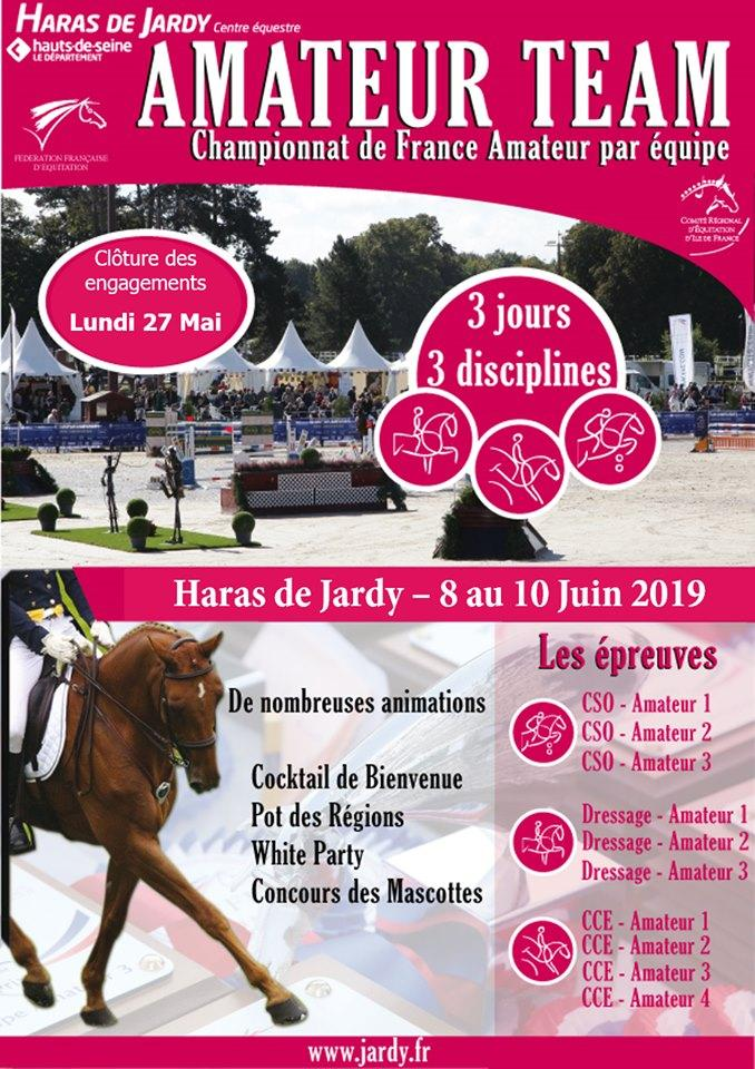 Let's meet up ! : Amateur team – Haras de Jardy