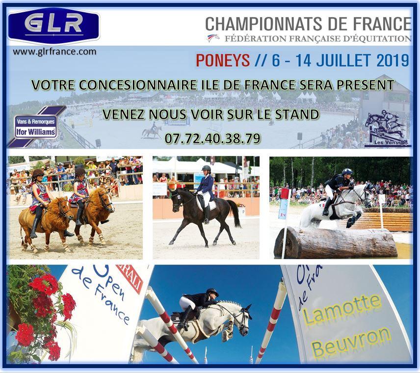 Championnat de France - Poneys 6-14 Juillet 2019