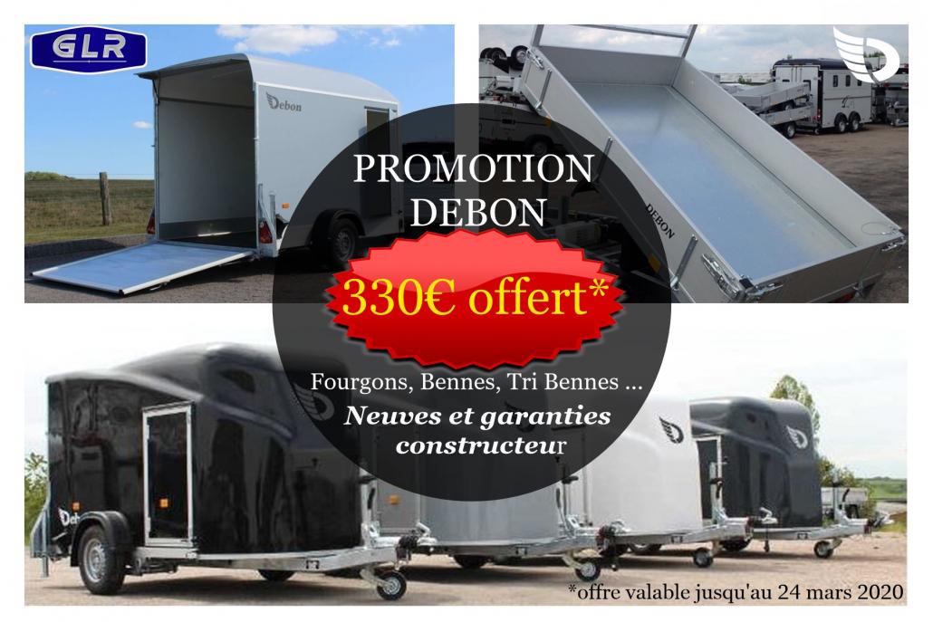 Promotion Debon : Benne - Tri benne - Fourgon