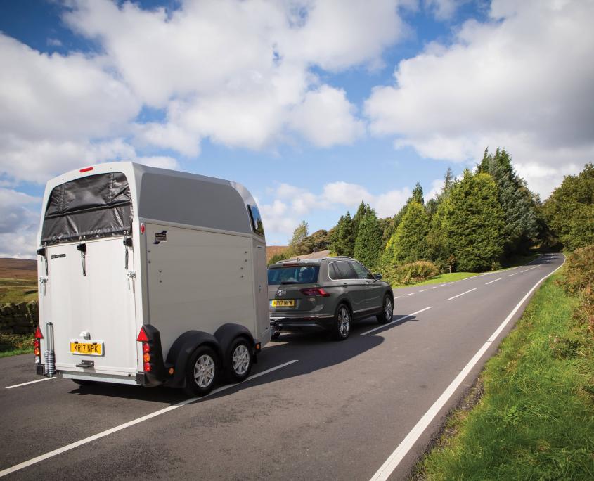 Horsebox_HBE_Silver_8 spoke alloy wheels_high level brake light_Rear view_VW Road